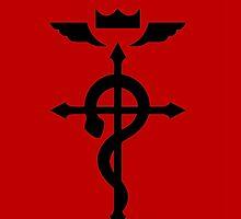 Fullmetal Alchemist Cross by Percabeth24
