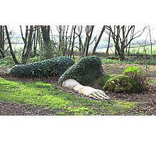 Mud Maid, lost gardens of Heligan Photographic Print