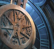 Hogwarts Swinging Clock by rose511