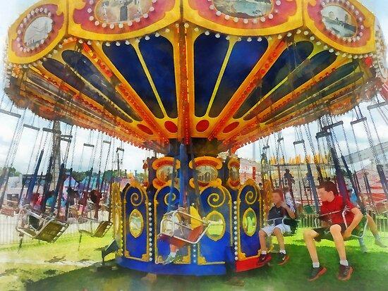 Carnival - Super Swing Ride by Susan Savad