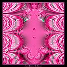 Cotton Candy Swirls Fractal by Rose Santuci-Sofranko