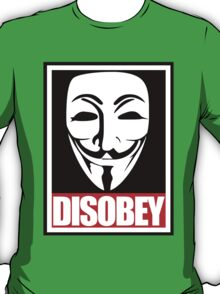 Disobey Vendetta T-Shirt