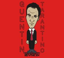 Tarantino Cartoon Inspired T-shirt :D by MelanieAndujar