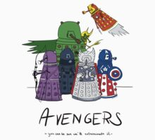Daleks as Avengers by cl-productions