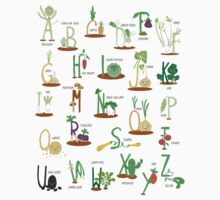 Alphabet Veggies by Holly Hatam