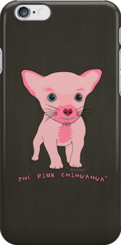 The Pink Chihuahua Tee by nealcampbell