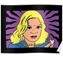 Leslie Knope - What is that? Poster