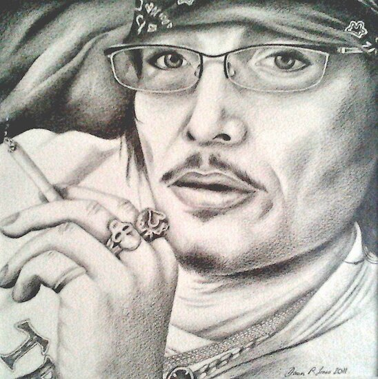 'Still Got It' Adam Ant by Dawn Jones Art