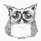 Haggard Owl by annieclayton