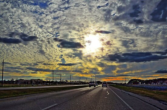 Sunset Road by venny
