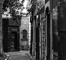 La Recoleta Cemetery - in Monochrome by photograham