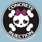 concrete injection baby doll standard logo by mschandl