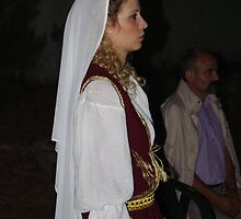 Cretan Bride - Traditional by Francis Drake