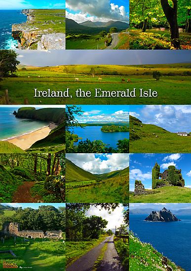 Ireland, Emerald Isle by Andrés Hurtado