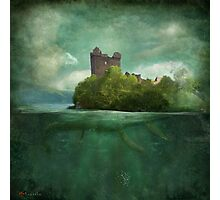 'Under The Castle'  Photographic Print