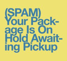 (Spam) Your package! (Cyan type) by poprock