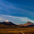 Mountains of Assynt Panorama by derekbeattie