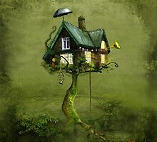 'Gingerbread Tree' by Matylda  Konecka Art