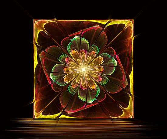 Flower Tile by Pam Amos