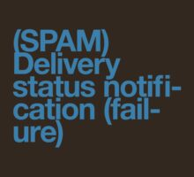 (Spam) Delivery status! (Cyan type) by poprock