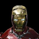 Iron man in Iron man case by MrBliss4