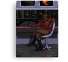 Uhura Canvas Print
