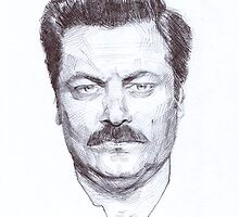 Ron Fucking Swanson by character undefined