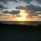 Sunset at Ocracoke by Valerie Howell