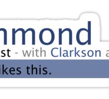 Hammond- Stig Likes This Sticker