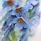 Meconopsis, Himalayan Poppy by artbyrachel