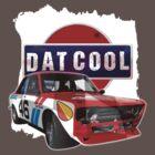 Dat Cool - Retro Datsun Tee Shirt by ArtGear