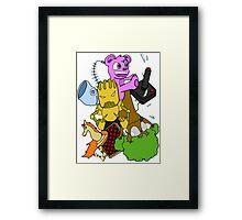 BoomBoxClapp Framed Print