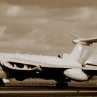 Victor Landing at RAF Marham 1991 by SwampDogPhoto