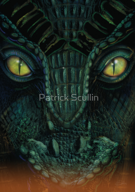 Dragon by Patrick Scullin