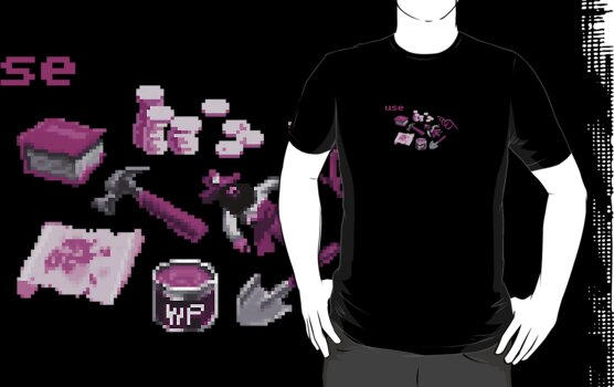 Monkey Island Inventory (purple) by klook