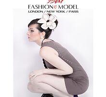 """ I AM "" Fashion Model ( Vivienne ) Designer iPad Case by Love Through The Lens"