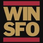 San Francisco 49ers WIN SFO (adult size) by Weapons of Moroland