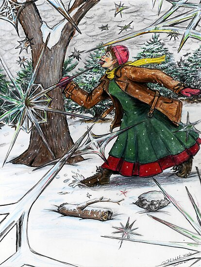 Snowflake Girl by David Webb