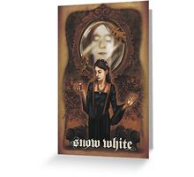 Renaissance Snow White Greeting Card