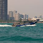Chicago Police Boat by gerafotografija
