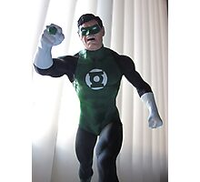 The Green Lantern Photographic Print