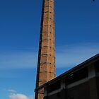 Old factory chimney by Cameron Hicks