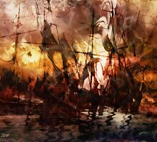 The Lost Armada by Stefano Popovski