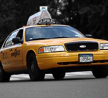New York Yellow Cab by kc135