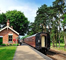 Holt Station Norfolk by Moments In Time Photography