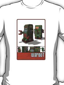 Tin Clockwork War Bot Destroy Humans T-Shirt