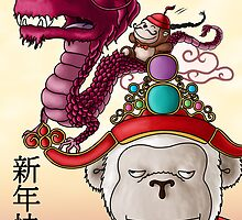 Chinese New Year 2012 by beckiiness