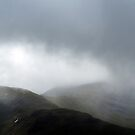 Mountains and mist at Glencoe by Richard Flint