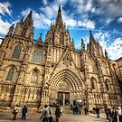 Barcelona Cathedral 2.0 by Yhun Suarez