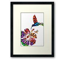 Perfect Harmony - Nature's Sharing Art Framed Print